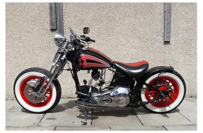 Harley Davidson Softail Bobber Rolling Project V5c Mot D Spares Repair Motorcycle Spares