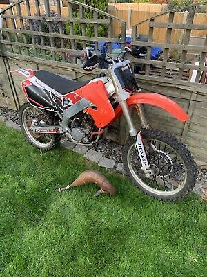 Honda Cr125 Mx Bike Spares Or Repairs Rolling Project L K Now Motorcycle Spares